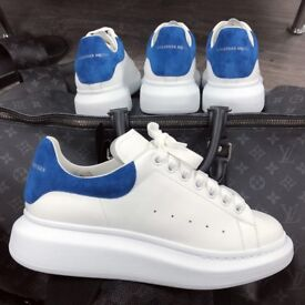 Alexander McQueen Sneakers 'BLUE&WHITE'