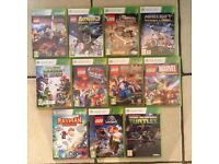 Xbox 360 Lego and other games