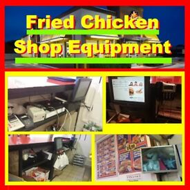 COMPLETE Fried Chicken Pizza Shop Package - Henny Penny Fastron Fast Food KFC - Business stock sale