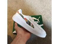 Puma Basket Platform Aloha JR | UK 5.5 | New in original box.