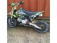 2016 moto madness 125cc pit bike
