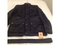Belstaff The Roadmaster Waxed Cotton Jacket in Black - Size LARGE (Immaculate)