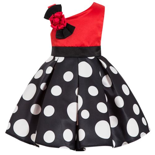 kids skirts toddlers polka dot girls one