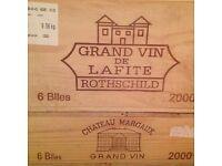French Wine Bordeaux Grands Crus 36 bottles