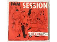 Vintage vinyl records, rare jazz albums