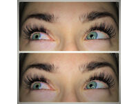 Eyelash extensions, tinting and perm. GK hair straightening.