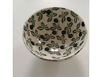 Emma Bridgewater very rare footed French bowl, perfect condition