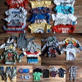MASSIVE BOYS CLOTHES BUNDLE 3-4 YEARS