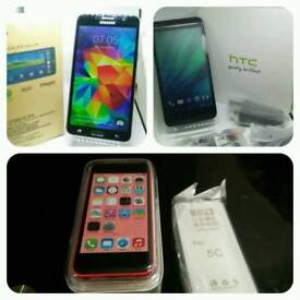 Samsung Galaxy Mega 2 / HTC DESIRE 816 / iPhome 5c All UNLOCKED NEW BOXED WITH ALL ACCESSORIES