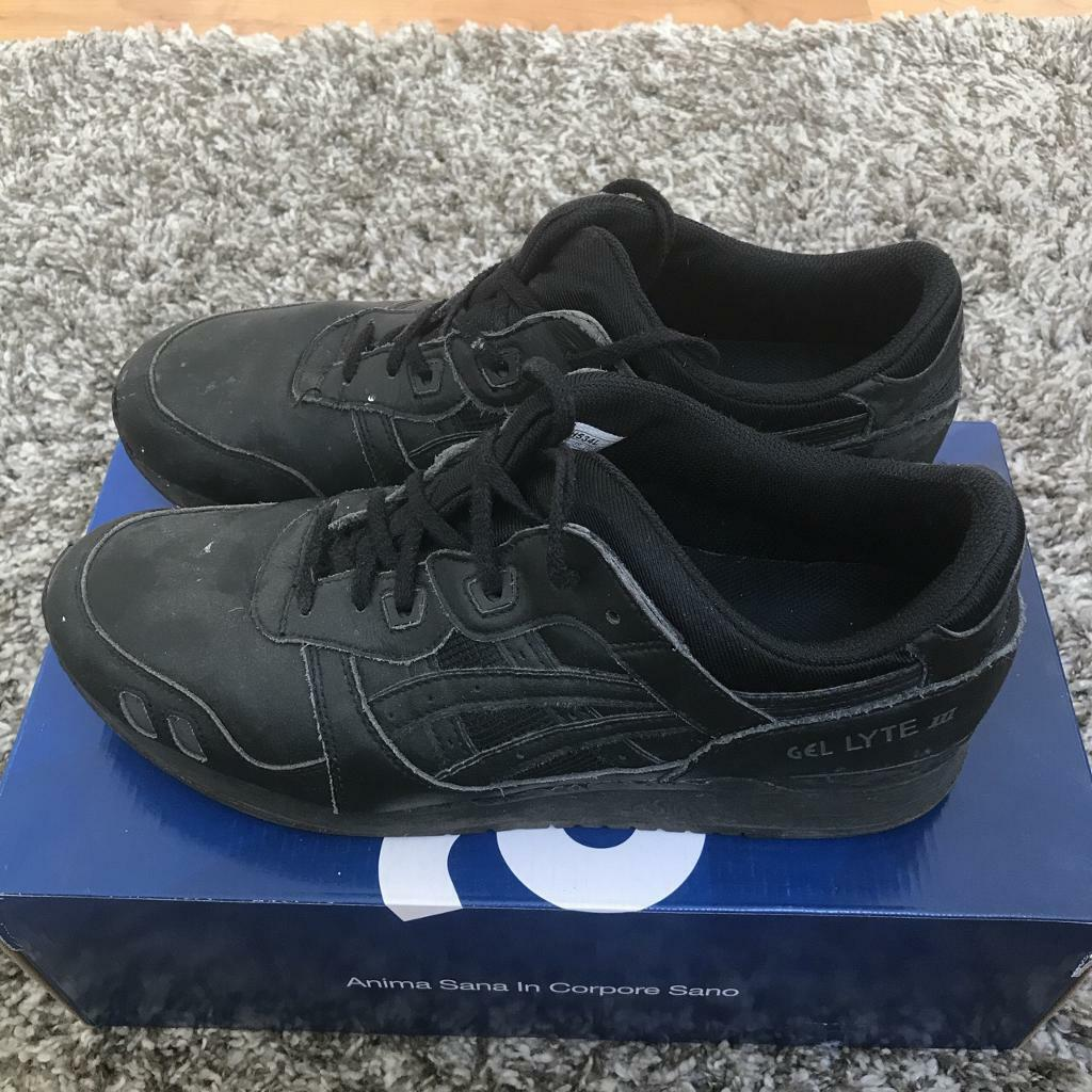 new styles a4ba1 361af Asics Gel Lyte iii triple black | in Stonehaven, Aberdeenshire ...