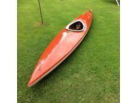 Kayak with paddles
