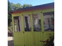Garden hut/shed for sale buyer must dismantle and take away as soon as possible