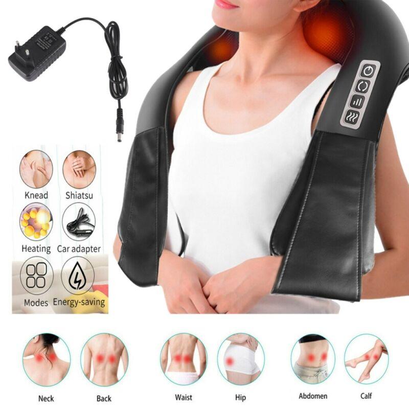 Elektrisch Nackenmassagegerät Shiatsu Massagegerät Schultermassage Wärmefunktion