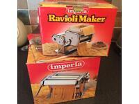 Imperia pasta and ravioli makers