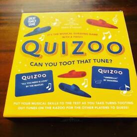 Quizoo Can You Toot That Tune Fun Family Party Holiday Game By Professor Puzzle New in Box