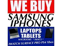 SAMSUNG GALAXY NOTE S8 S9 WANTED IPHONE X IPHONE 8 | 7 SE 6S MACBOOK IPAD SURFACES PRO