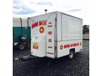 Custom built tow-ability dinky donut trailer (catering trailer)