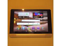Lenovo Yoga 8-inch Tablet (Silver Grey Metal) - Tablet (Quad Core 1.2GHz, 1GB RAM, 16GB x 2 Cameras