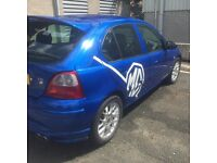 MG ZR for sale low mileage brilliant car will consider sensible offers