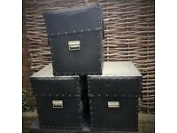 3 x Large Heavy Duty Par Can Storage Cases | Lighting & DJ Equipment | Water Resistant - £40 Each
