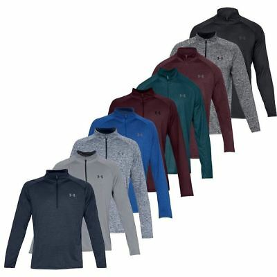 Under Armour Mens 2020 UA Tech 1/2 Zip Sweater Mens Training Breathable GYM Top