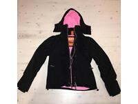 Excellent Condition Superdry Professional The Windcheater Women's Black Jacket