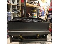 Commercial takeaway char grill 2 burner