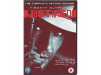 Justified - Series 2 (SET OF 3 DVD ONLY £12.00 THE COMPLETE SECOND SEASON
