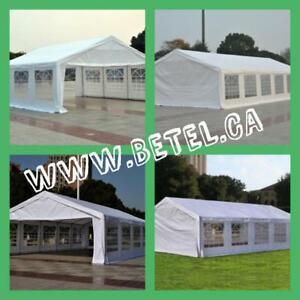 Brand New || Large Steel Wedding Party Event Tents || We Deliver FREE!!! $339 & UP