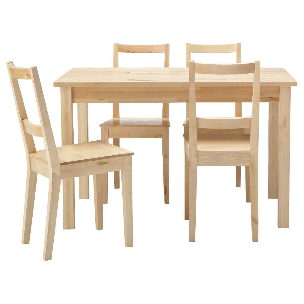 Ikea Breakfast Table: IKEA BERTIL/BJURSTA Extendable Dining Table & 6 Chairs