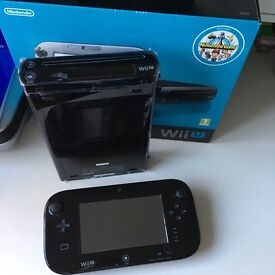 Nintendo Wii U Console And 5 Game Bundle