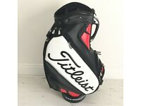 "BNWT Titleist 10.5"" Tour Staff Cart Golf Bag"