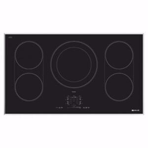 Surface de cuisson à induction de 36'' en Vitro céramique, acier inoxydable, Jenn-air
