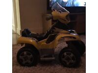 Boys quad bike