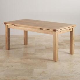 I.8m/2.8m Oak Dining Table