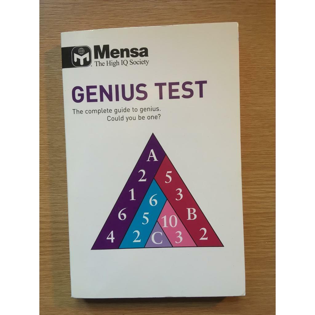 Mensa Genius Test Book | in Cambridge, Cambridgeshire | Gumtree