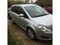 Vauxhall zafira 1.7 elite 12 mths mot for sale or swap with a Honda Civic type r