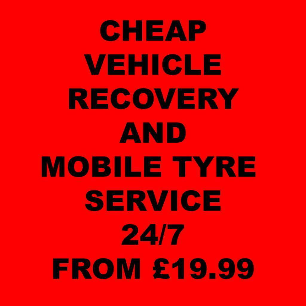 24HOUR VEHICLE RECOVERY TRUCK CHEAP TOWING LONDON ROADSIDE