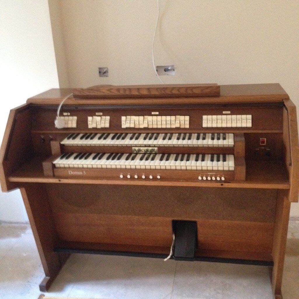 For Sale - Viscount Domus 5 Two Manual Analogue Organ | in Norwich, Norfolk  | Gumtree