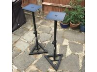 Gorilla monitor stands.