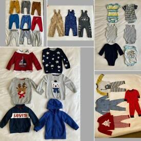 Bundle boys clothes 12-18 months