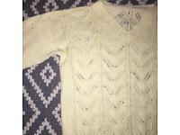 Vintage knitted jumper size 12