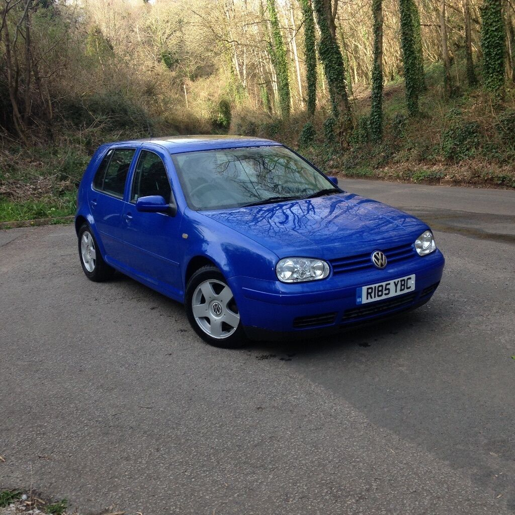 1998 volkswagen mk4 golf gti 1 8 20v non turbo petrol 5 speed manual jazz blue 5 door. Black Bedroom Furniture Sets. Home Design Ideas