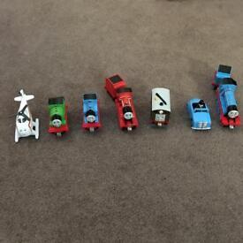 Thomas the tank engine die cast take n play trains
