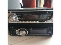 2 JVC CD players