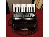 Good condition Chanson piano accordion for sale