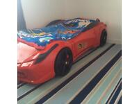 Ferrari Car bed with sounds and lights.