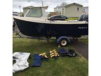 Westport pilot 4 fishing boat pleasure boat 4m Yamaha 30hp engine 2007