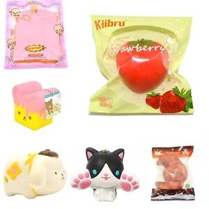 Biggest Squishy Squishies selection in Canada Slow rising cakes fruits and kawaii animals Free squishy with $30 order