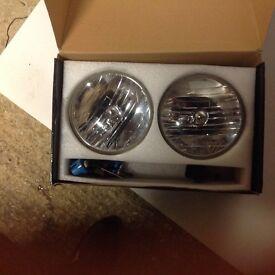 Hummer H2 headlights